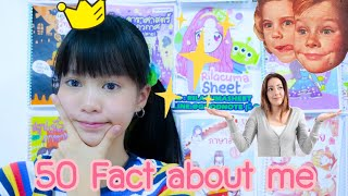 GRACE ZY: 50 facts about me ‼️