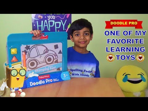 My Favorite Learning Toy -  Fisher Price Doodle Pro