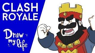 La HISTORIA de CLASH ROYALE - Play Draw con Alvaro845