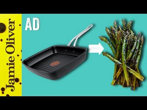 How To Griddle Veg | 1 Minute Tips | Jamie Oliver - AD