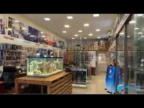 Anglers Fishing Tackles One Of The Biggest Tackle Store