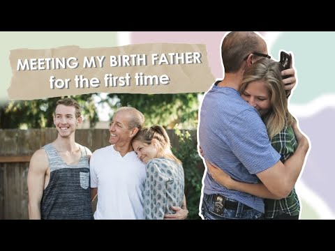 Meeting My Birth Father For The First Time  My Adoption Story