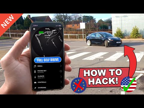 how to bypass the EU/UN law & let the car self drive to you! | Tesla HW3 Smart Summon Trick/Hack V10