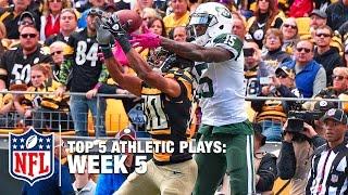 Top 5 Most Athletic Plays (Week 5) | NFL Now
