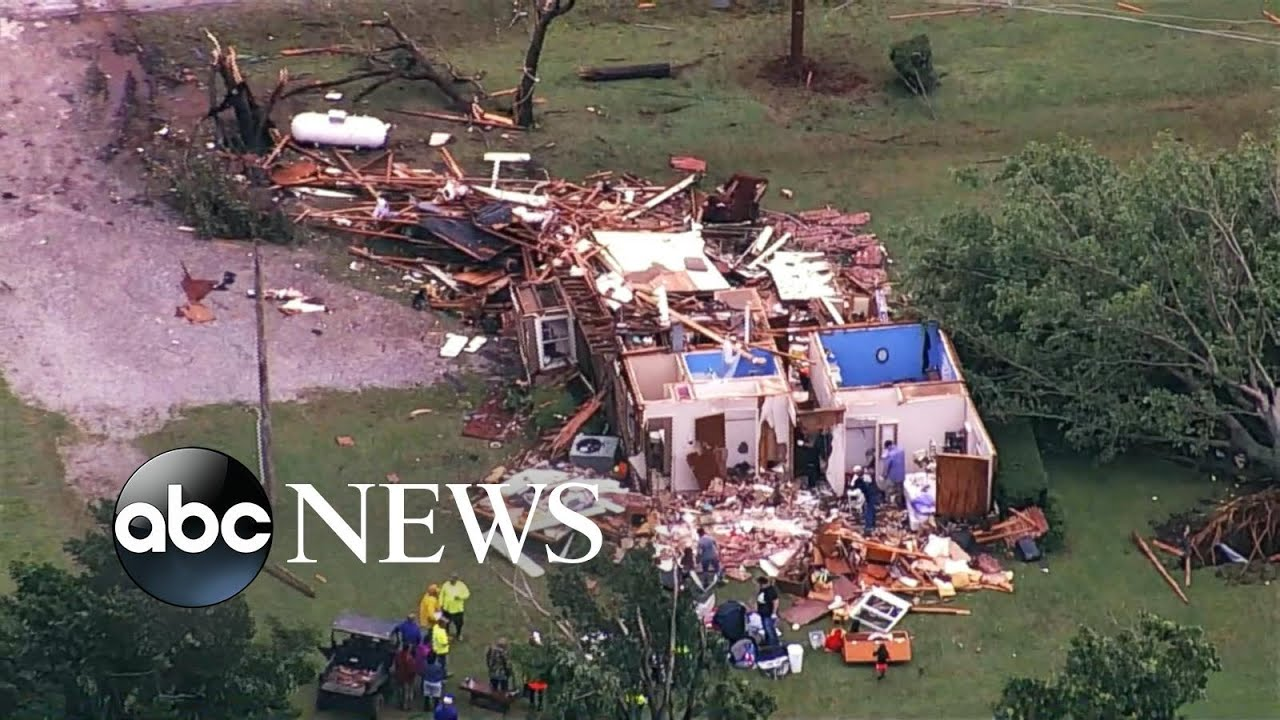 LIVE: Storm-related fatality reported as severe weather slams central US