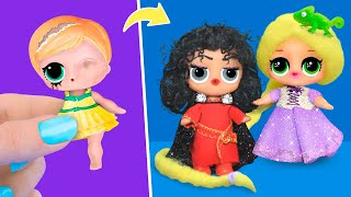 Never Too Old for Dolls! 9 Tangled LOL Surprise DIYs