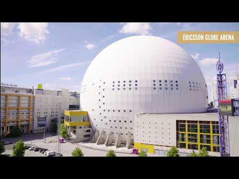 Newsec City Walk   The Ericsson Globe