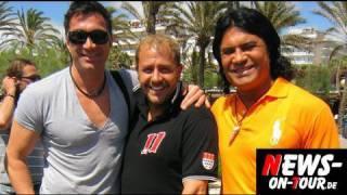 Willi Herren, Luca + Costa Cordalis @Ballermann 6 / Mallorca - 5.5.2010 TV.NEWS-on-Tour.de