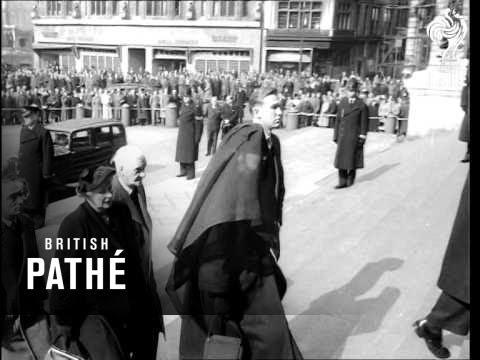 Funeral Of Sir Alexander Fleming (1955)