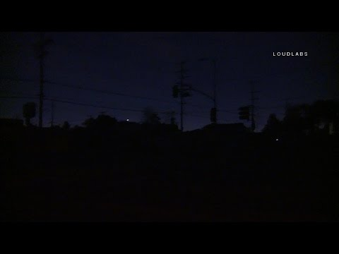 Power Outage / South L.A.   RAW FOOTAGE