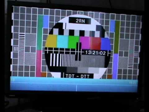 Toshiba HD Ready LED TV How Get to Test card Channel on Saorview