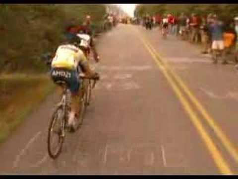 Tour de Georgia 2007 - Stage 5 Brasstown Bald Finish