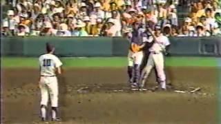1987 橋本清 甲子園 夏  PL学園