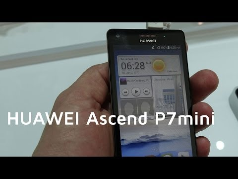 HUAWEI Ascend P7 mini Hands-on | MWC 2014