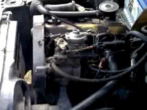 audi 80 1 6 turbo diesel engine starting youtube. Black Bedroom Furniture Sets. Home Design Ideas