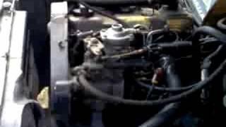 Audi 80 1.6 Turbo Diesel - engine starting