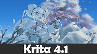 Krita 4.1 Новые функции и изменения