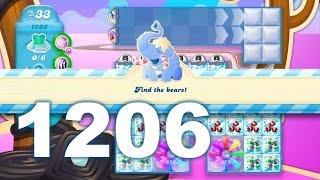 Candy Crush Soda Saga Level 1206 (3 stars, No boosters)