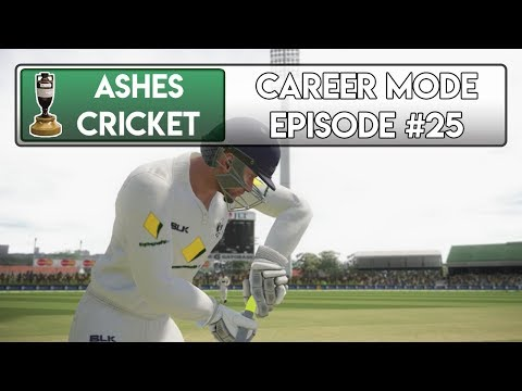 FIRST CLASS DEBUT - Ashes Cricket Career Mode #25