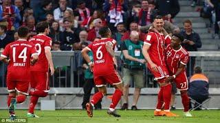 Bayern munich 5-1 borussia monchengladbach: sandro wagner hits brace as bundesliga champions