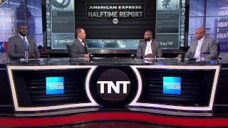 Inside The NBA: Baron and Shaq Race | NBA on TNT