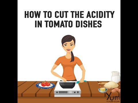 How To Cut The Acidity In Tomato Dishes
