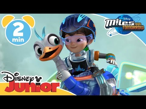 Miles From Tomorrow | Robot Pet | Disney Junior UK