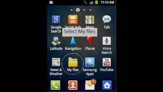 How to change sms tone in Galaxy Y