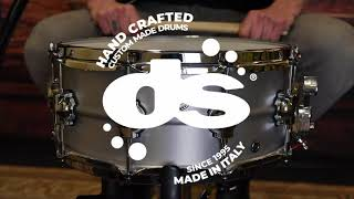 Aluminum 14x6 Snare Drum by DS Drum (Sound Examples)