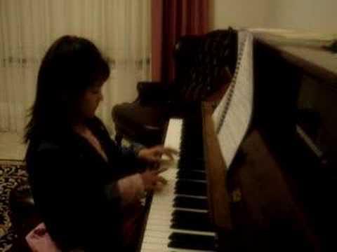 Jessica@6 - J.S Bach: Minuet