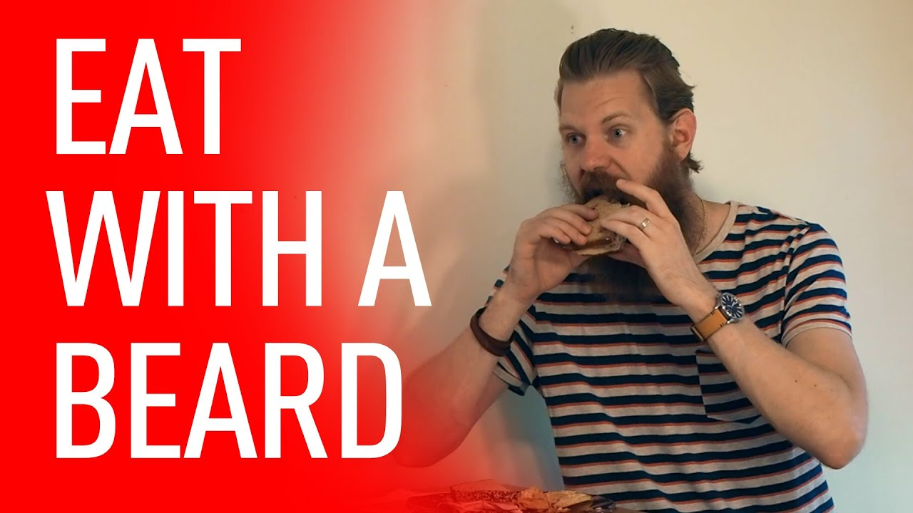 How to eat with a beard