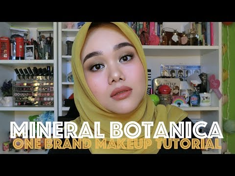 MINERAL BOTANICA ONE BRAND MAKEUP TUTORIAL | FIRST IMPRESSION | FATYABIYA