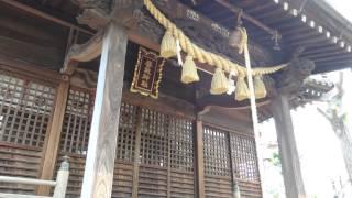 鎮守の社(稲付香取神社・北区赤羽西2-22-7)*