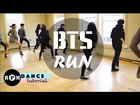 "BTS ""Run"" Dance Tutorial (Chorus)"