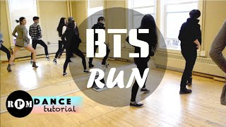 "Gambar cover BTS ""Run"" Dance Tutorial (Chorus)"