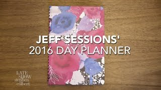 Jeff Sessions' 2016 Day Planner Free HD Video