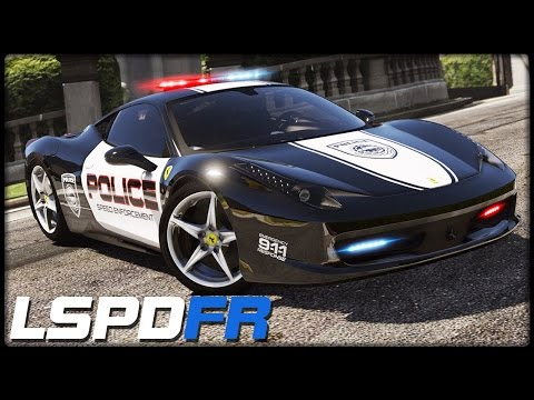 GTA 5 LSPD:FR #127 | HOT PURSUIT | Ferrari 458 Italia - Deutsch - Grand Theft Auto 5 LSPDFR