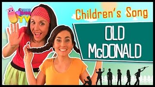 ♫♪OLD McDONALD HAD A FARM ♫♪ children