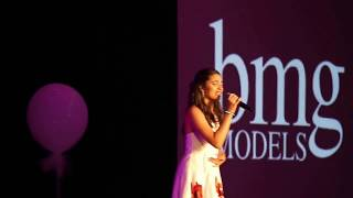 Josie Performing  - Child Model Magazine 2018 -