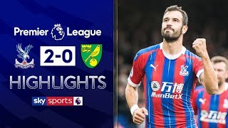 Palace extend unbeaten run with win over Norwich | Crystal Palace 2-0 Norwich | EPL Highlights