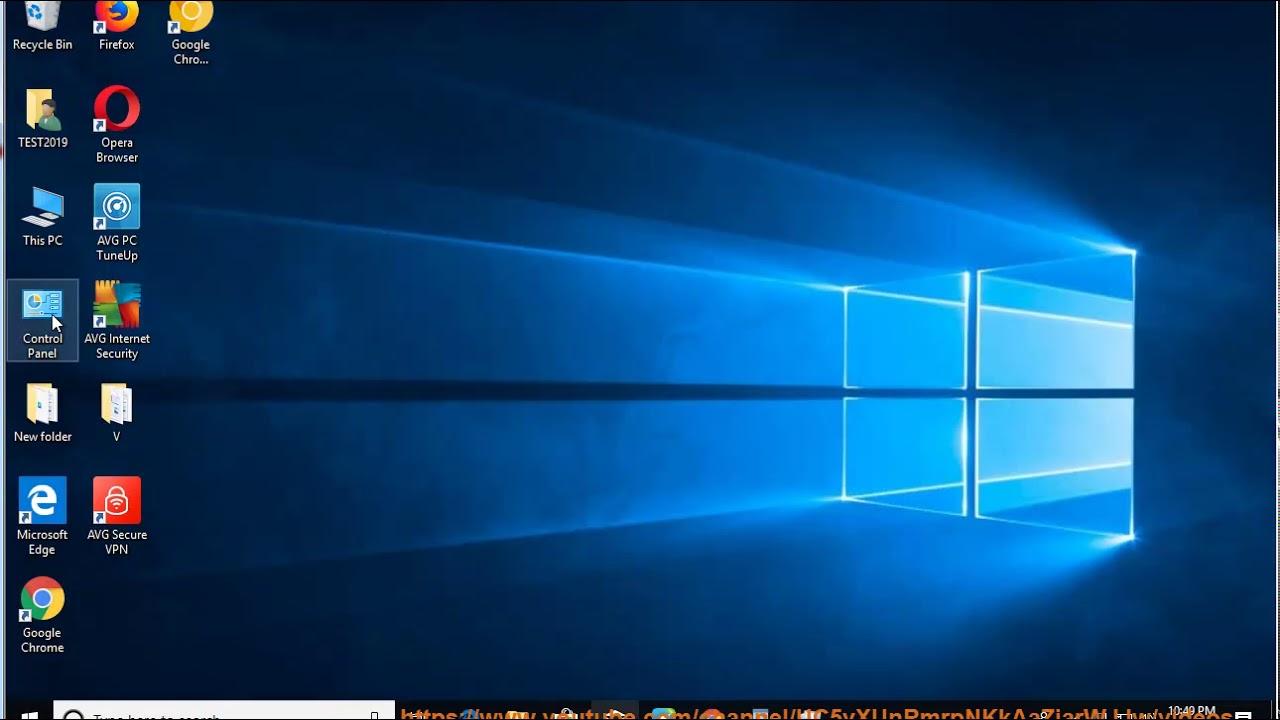Uninstall AVG Ultimate 2019 in Windows 10 October 2018 Update