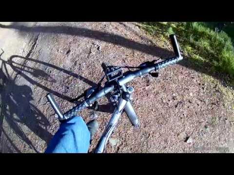 Вариант крепления фотоаппарата или экшен камеры на велосипед