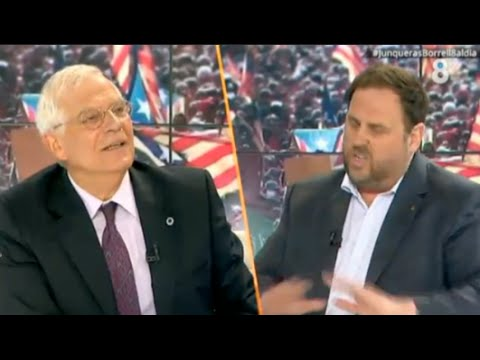 Qué gozada: Borrell destroza a Junqueras en directo