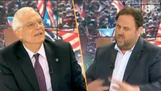 Qué gozada: Borrell destroza a Junqueras en directo thumbnail
