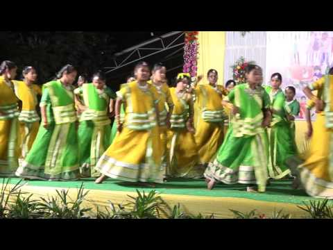 Annual day 2015-16 Dance performance by 7th, 8th&9th class girls