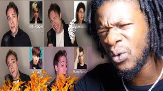 ONE GUY, 54 VOICES (With Music!) Drake, TØP, P!ATD, Puth, MCR, Queen  Famous Singer Impressions