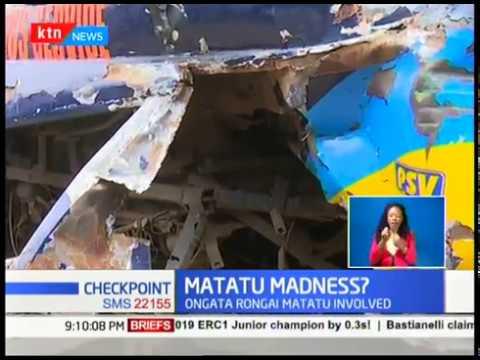 Several injured in matatu accident along Haile Selassie Avenue