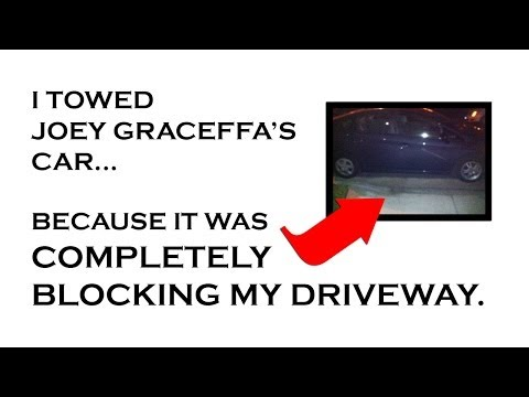 Famous YouTuber gets towed, bitches about it. Guy who towed him makes hilarious response video