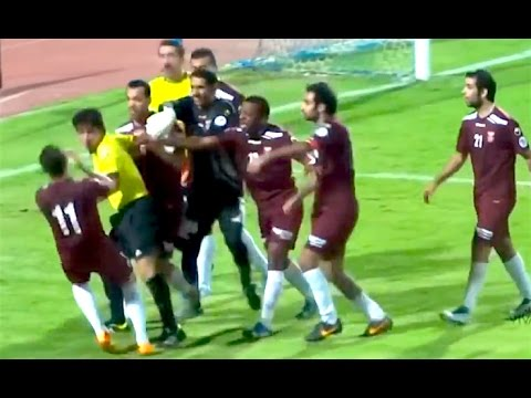 Ozzy Man Reviews: Soccer Players vs Refs