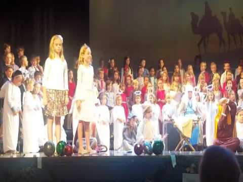 Rosarian Academy Christmas Pageant 2016: All About That Baby